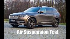 how does air suspension volvo xc90 2015 work