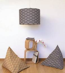 Diy D 233 Co Poufs Et Abat Jour Japonisants Diy D 233 Co Tuto