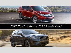 2017 Honda CR V Vs 2017 Mazda CX 5   Top Speed