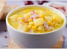 delicious ham and potato soup_image