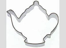 """Teapot Cookie Cutter   3.75"""""""