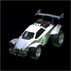 Rocket League Garage White Octane by Item Database Rocket League Garage