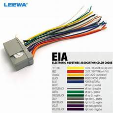 Leewa Car Audio Stereo Wiring Harness For Honda Odyssey