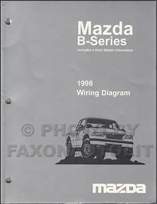 auto repair manual online 1998 mazda b series plus on board diagnostic system 1998 mazda b4000 b3000 b2300 pickup truck wiring diagram manual original 2 and 4 door
