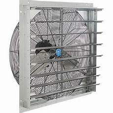 Kitchen Exhaust Fan Supplier In Singapore by Exhaust Fans With Guard Mounts Or Shutters Global Industrial