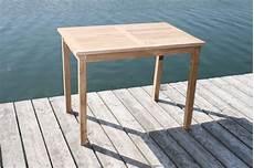 Tisch 90x90 Ausziehbar - tisch gartentisch rechteckig 90 x 70 cm in premium teakholz