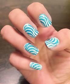 psychedelic swirl nails nails cute nails cute nail designs