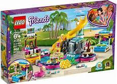 lego friends 41374 andrea s pool mattonito