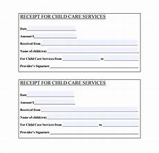 20 daycare receipt templates doc pdf free premium