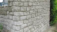 Natursteinwand Selber Machen - mauer aus beton in steinoptik selber verkleiden