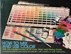 binney smith inc liquitex acrylic oil color map mixing guide commercial liquitex