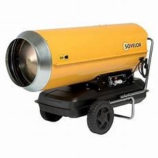 Chauffage De Chantier Mobile Au Fuel Hp110 Sovelor 111 Kw