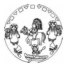 indianer mandala indianer cowboy und indianer und