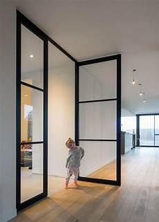 Porte Vitr 233 E Style Atelier Sur Pivot Anywaydoors Comfy