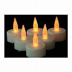 led tea lights with automatic timer findgift