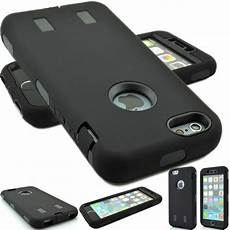 for apple iphone 8 4 7 quot heavy duty hybrid rugged rubber case cover skin ebay