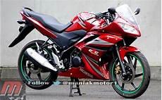 Modifikasi Cb150r 2013 by Modifikasi Honda Cb150r Streetfire Berfairing Model Yamaha