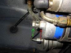 kraftstoff filter wechsel w124 archiv