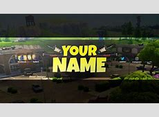 NEW FREE 2018 Fortnite Banner Template!   (Free Fortnite