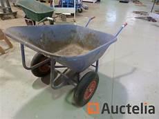 chariot pour chute de bois et brouette 224 2 roues