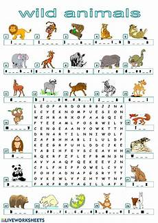 animals and their worksheets 14100 find the animals interactive worksheet
