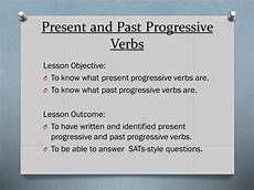 present progressive and past progressive verbs for year 6 sats teaching resources