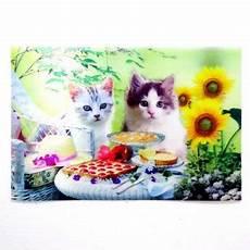 Poster Kucing 3 Dimensi Pusaka Dunia