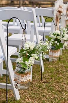 45 chic rustic burlap lace wedding ideas and inspiration in 2019 wedding aisle decorations