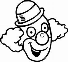 awesome happy clown coloring page scary clown