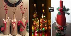 deco de noel avec bouteille en plastique 94257 decoration de noel avec des verres