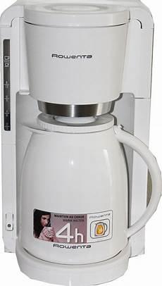 kaffeemaschine weiß mit thermoskanne rowenta 12 tassen filter kaffeemaschine mit thermoskanne