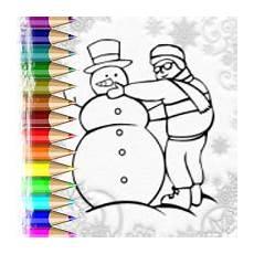 Ausmalbild Schneemann Bauen Malvorlagen Winter Senioren X13 Ein Bild Zeichnen