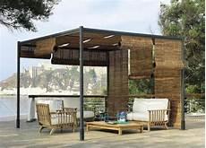 Modern Timber Pergola Sitzecke