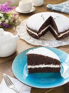 la torta nua si conserva in frigo torta paradiso al cacao con crema alla panna fatto in casa da benedetta rossi ricetta nel