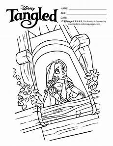rapunzel tower coloring page at getcolorings free
