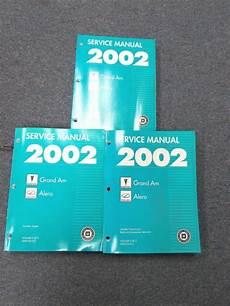 motor auto repair manual 2002 pontiac grand am electronic valve timing 2002 chevrolet chevy pontiac grand am oldsmobile alero service manual set ebay