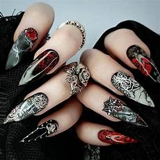 12 scarily stunning halloween nail designs sonailicious