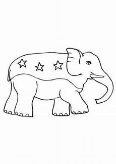 Malvorlagen Elefant Pdf Ausmalbilder Kleiner Zirkus Elefant Tiere Zum Ausmalen