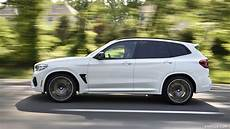 2020 bmw at4 white 2020 bmw x3 m competition color alpine white side