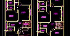 free autocad house plans dwg duplex house 30 x60 autocad house plan drawing free