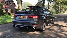 audi rs3 limousine 2017 new audi rs3 limousine 2017 launch and revving