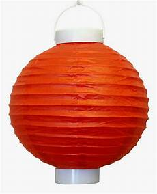 8 Quot Battery Operated Led Paper Lantern