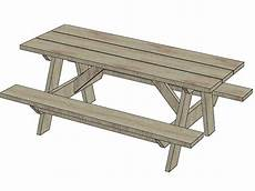 Picnic Table Clipart