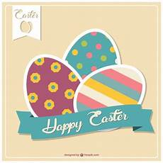 easter card design templates easter card template vector free