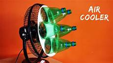 how to make air cooler at home using plastic bottle eco