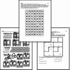 riddle worksheets for grade 5 10905 fifth grade math challenges worksheets puzzles and brain teasers edhelper