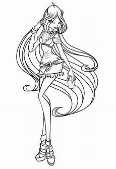 coloring sheets to print 17613 winx princess coloring pages and print for free