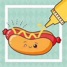 animado turpial dibujo dibujos animados de hotdog relajarse vector premium vectores illustrator dibujos dibujos