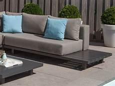 Lounge Sofa Outdoor Günstig - paradiso loungegruppe exotan alu anthrazit nanotex