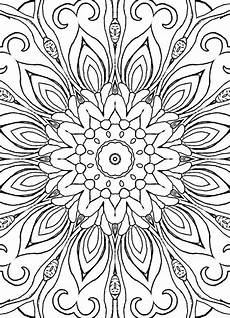 patterns adult coloring book 25 coloring pages including mandalas geometric designs rug